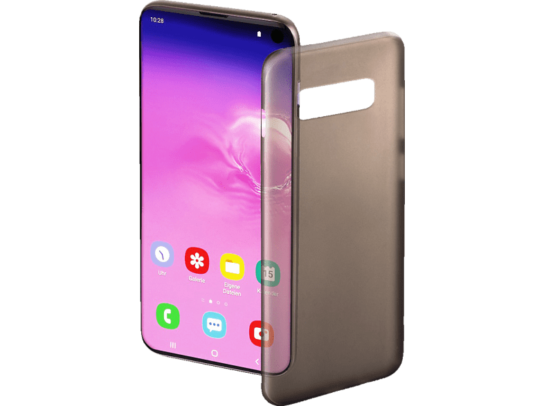 HAMA Ultra Slim , Backcover, Samsung, Galaxy S10, Schwarz