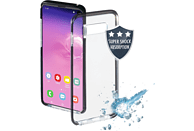 HAMA Protector , Backcover, Samsung, Galaxy S10, Thermoplastisches Polyurethan, Transparent/Schwarz