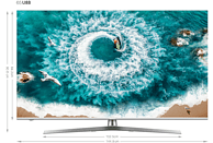 HISENSE H65U8B LED TV (Flat, 65 Zoll/164 cm, UHD 4K, SMART TV, VIDAA U3.0)