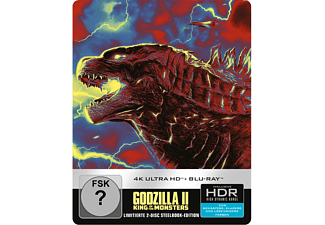 Godzilla II: King Of The Monsters (Steelbook) - (4K Ultra HD Blu-ray + Blu-ray)