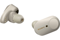 SONY WF-1000XM3, In-ear True-Wireless-Kopfhörer Bluetooth Silber