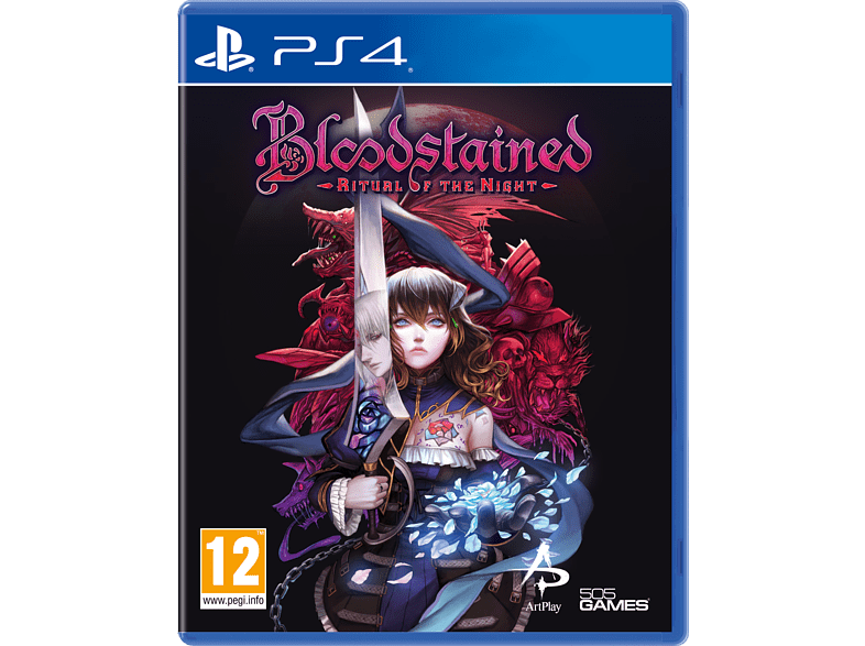 505 Bloodstained Ritual Of The Night Ps4 Oyun