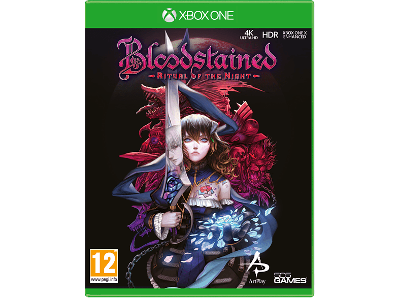 505 Bloodstained Ritual Of The Night Xbox Oyun