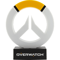 PALADONE PRODUCTS Overwatch Logo Leuchte Lampe, Orange/Weiß