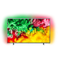 PHILIPS 43PUS6703/12 LED TV (Flat, 43 Zoll/108 cm, UHD 4K, SMART TV, Ambilight, SAPHI)