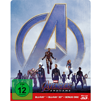 Avengers: Endgame Limited Steel Edition  [3D Blu-ray (+2D)]