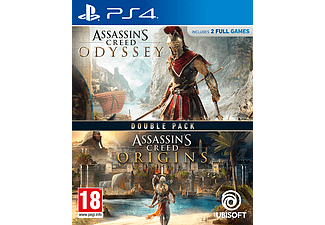 Assassins Creed Odyssey and Origins PlayStation 4