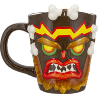 PALADONE PRODUCTS Crash Bandicoot Uka Uka Becher Tasse, Mehrfarbig