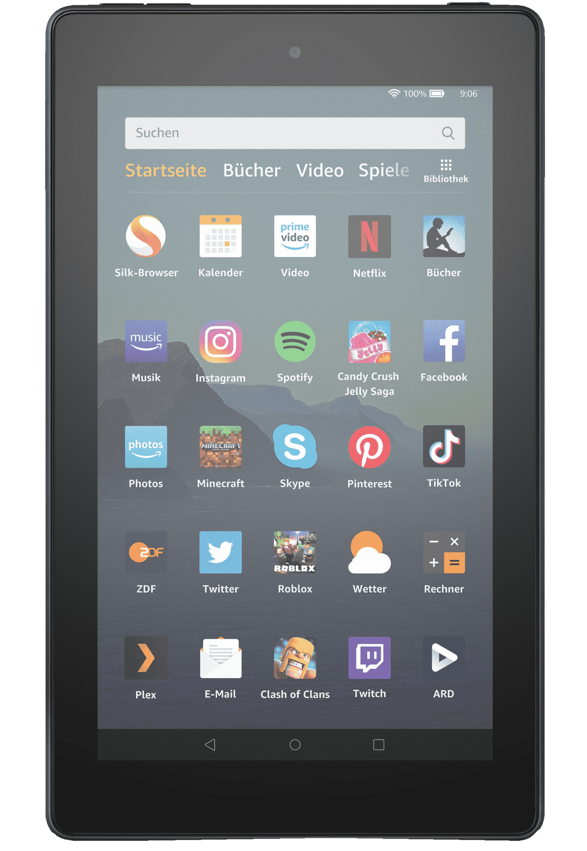 AMAZON Fire 7 Tablet, 16 GB in Schwarz