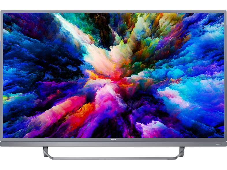 PHILIPS 49PUS7503/12 4K Ultra-HD-LED Android TV (Flat, 49 Zoll/123 cm, UHD 4K, SMART TV, Ambilight, Android)