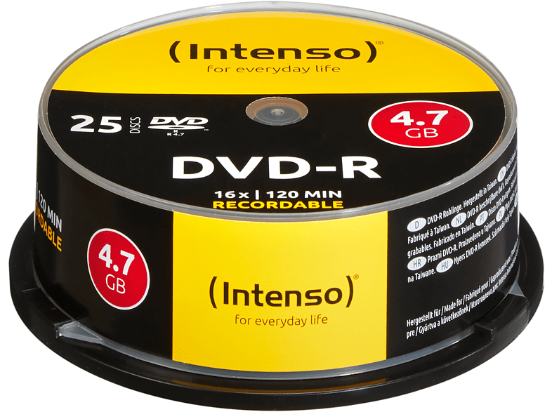 INTENSO 4101154 DVD-R Rohlinge