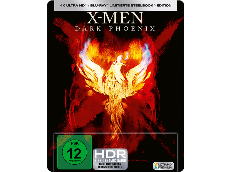 X-Men: Dark Phoenix (Steel Edition) [4K Ultra HD Blu-ray]