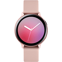 SAMSUNG  Galaxy Watch Active2 Aluminium 44mm PG Smartwatch Aluminium, Fluorkautschuk, M/L, Pink Gold