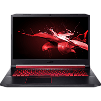 ACER Nitro 5 (AN517-51-7173), Gaming Notebook mit 17.3 Zoll Display, Core™ i7 Prozessor, 16 GB RAM, 512 GB SSD, 2 TB HDD, GeForce® GTX 1650, Schwarz/Rot
