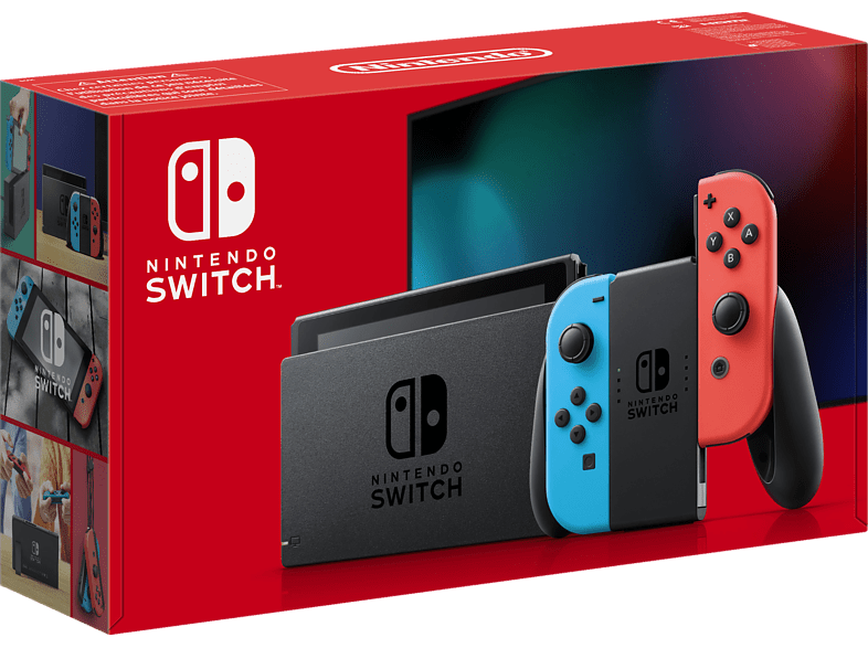 Nintendo Switch neue Edition in Neon-Rot/Neon-Blau