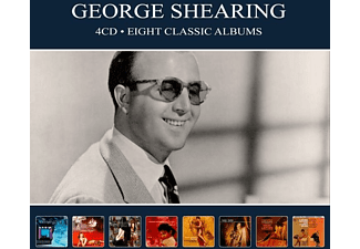 George Shearing - EIGHT CLASSIC ALBUMS - (CD)