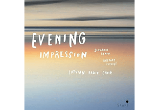 Latvian Radio Choir/Sigvards Klava/Kaspars Putnins - EVENING IMPRESSION - (CD)