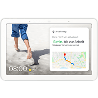 GOOGLE Nest Hub Smart Display mit Sprachsteuerung, Kreide