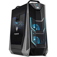 ACER Acer Predator Orion 9000 (PO9-600), Gaming PC mit Core™ i9 Prozessor, 16 GB RAM, 512 GB SSD, 1 TB HDD, GeForce® RTX™ 2080, 8 GB