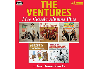 The Ventures - FIVE CLASSIC.. -REMAST- - (CD)