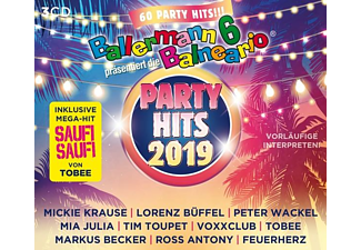 VARIOUS - Ballermann 6 Balneario Präs.Die Party Hits 2019 - (CD)