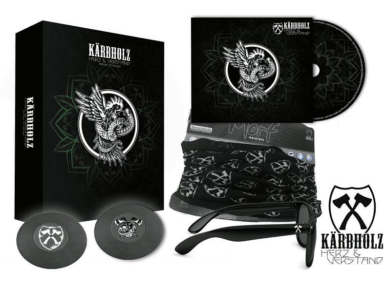 Kärbholz - Herz & Verstand (Limited Fan-Box) [CD + Merchandising]