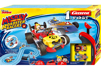 CARRERA (TOYS) Mickey and the Roadster Racers Rennbahn, Mehrfarbig
