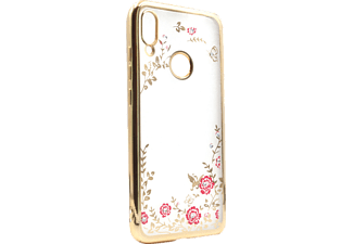 AGM 28819 Backcover, Xiaomi Redmi Note 7, Thermoplastisches Polyurethan, Kunststoff, Gold