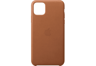 APPLE Leather Case Pure Back Handyhülle, Apple iPhone 11 Pro Max, Sattelbraun