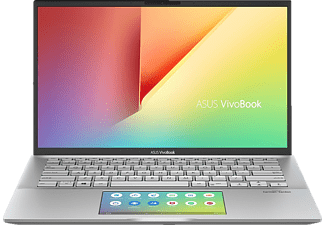 ASUS ASUS VivoBook S14 (S432FL-EB042T), Notebook mit 14 Zoll Display, Core i7 Prozessor, 8 GB RAM, 512 GB SSD, NVIDIA GeForce MX250, Transparent Silver