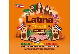VARIOUS - Latina Fever 2019 Vol.02 - (CD)