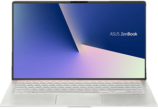 ASUS ASUS ZenBook 15 (UX533FD-A8131T), Gaming Notebook mit 15.6 Zoll Display, Core i7 Prozessor, 8 GB RAM, 512 GB SSD, NVIDIA GeForce GTX 1050 MAX Q, Icicle Silver