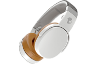 SKULLCANDY Crusher Wireless, Over-ear Kopfhörer Bluetooth Weiß/Grau