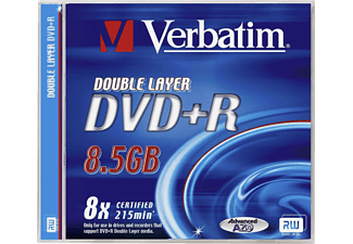 VERBATIM DVD+R Jewelcase 5-pack