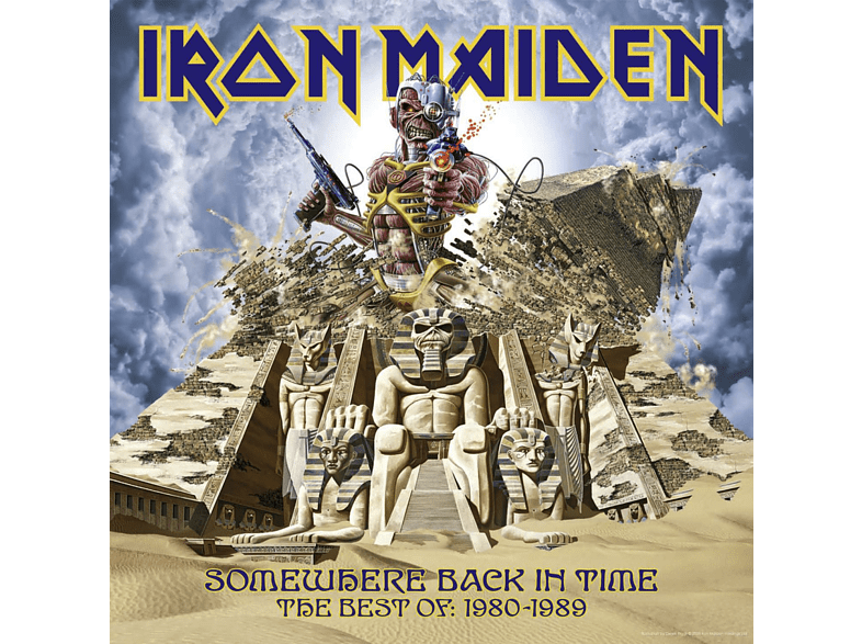 Iron Maiden - Somewhere Back In Time - The Best Of 1980-1989 [CD]
