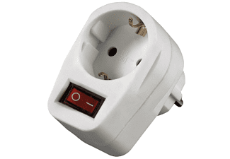 HAMA Socket Adapter, switchable - (00047640)