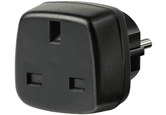 Adaptador - Brennenstuhl Travel Adapter, Reino unido, Negro