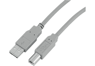 HAMA 34694 USB 2.0 Cable grey 1.5m