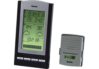 HAMA 76045 EWS-800 WEATHER STATION Wetterstation (Silber)